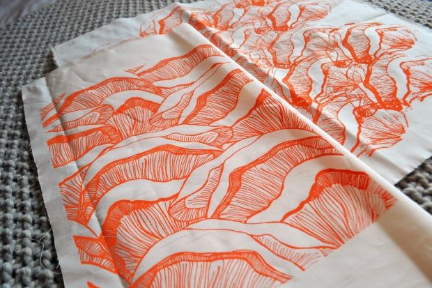 textile print on fabric