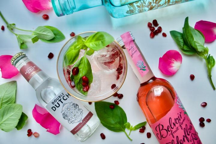 Valentines Gin Cocktail| TickledPink