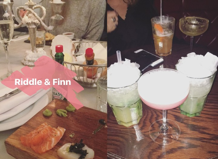 Riddle & Finns | Gluten Free | Cocktails At Be At One